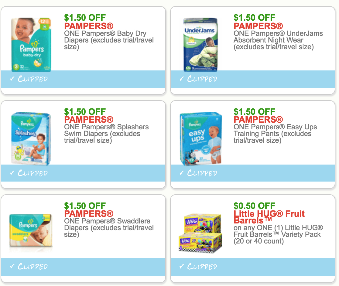 New Pampers & Baby Printable Coupons - Free Printable Pampers Swaddlers Coupons