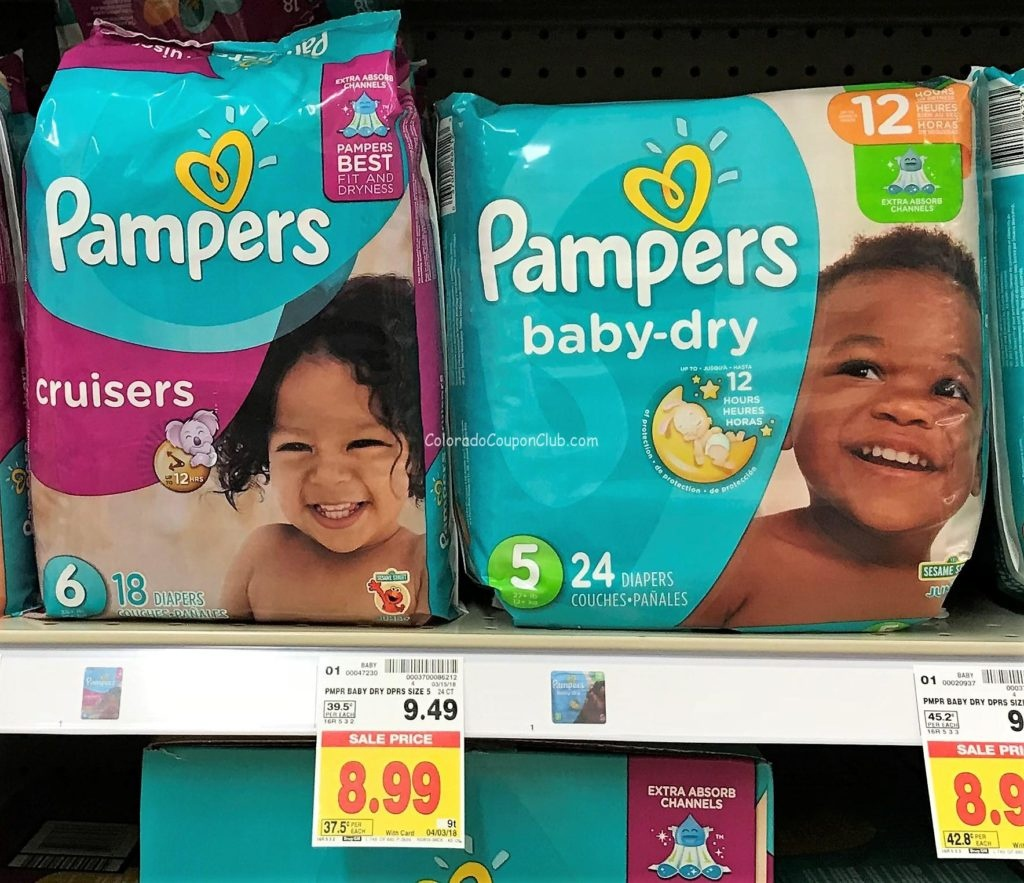 New Pampers Diapers Coupons, Only $7.49 At King Soopers! - Colorado - Free Printable Pampers Swaddlers Coupons