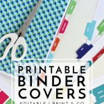 New To The Organization Toolbox: Printable Binder Covers And Tabs   Free Printable Tabs For Binders
