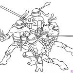 Ninja Turtle Coloring Page Ninja Turtle Coloring Pages Free   Teenage Mutant Ninja Turtles Printables Free