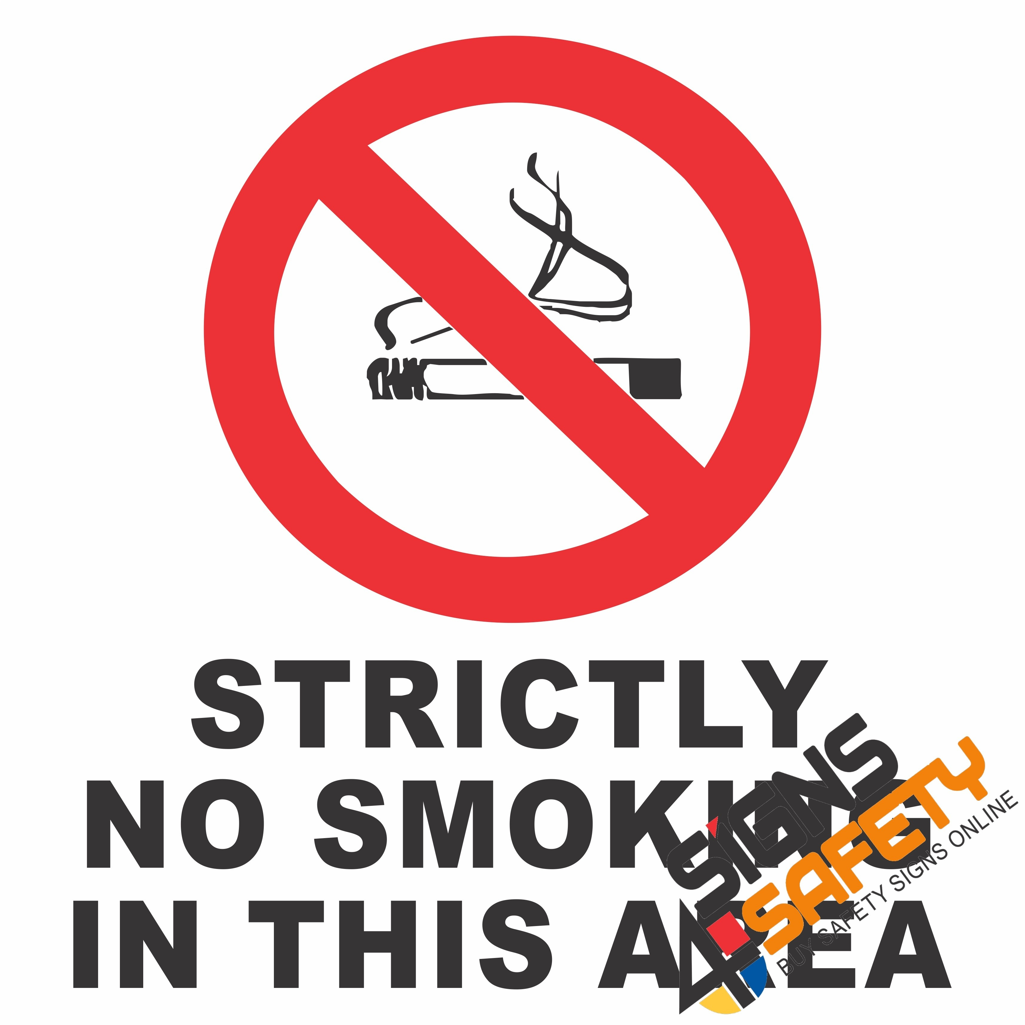 Nosa / Sabs No Smoking Signs South Africa - Signs4Safety - Free Printable No Entry Sign