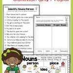Nouns Common And Proper | First Grade Grammar | Common, Proper Nouns   Free Printable Noun Picture Cards