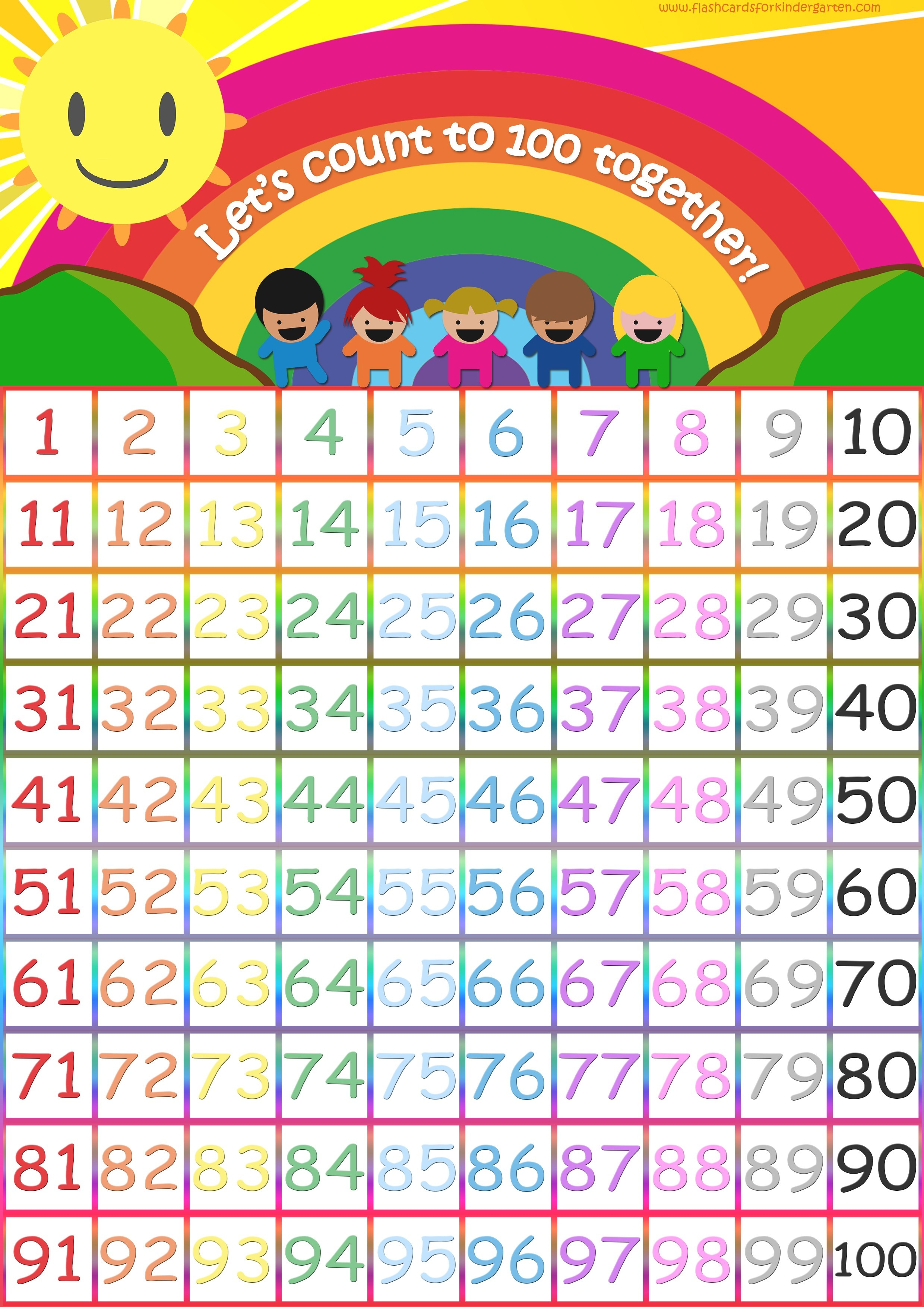 Number Flashcards - Teach Numbers - Free Flashcards & Posters! - Free Printable Number Flashcards 1 30