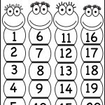 Numbers   Lessons   Tes Teach   Free Printable Number Chart 1 20