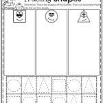 October Preschool Worksheets | Sheets | Preschool Worksheets, Shape   Free Printable Kindergarten Worksheets Cut And Paste