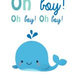 Oh Boy   Baby Shower & New Baby Card | Greetings Island   Free Printable Baby Shower Card