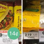 Old El Paso Tortillas Or Taco Shells Starting At 9¢! :: Southern Savers   Free Printable Old El Paso Coupons