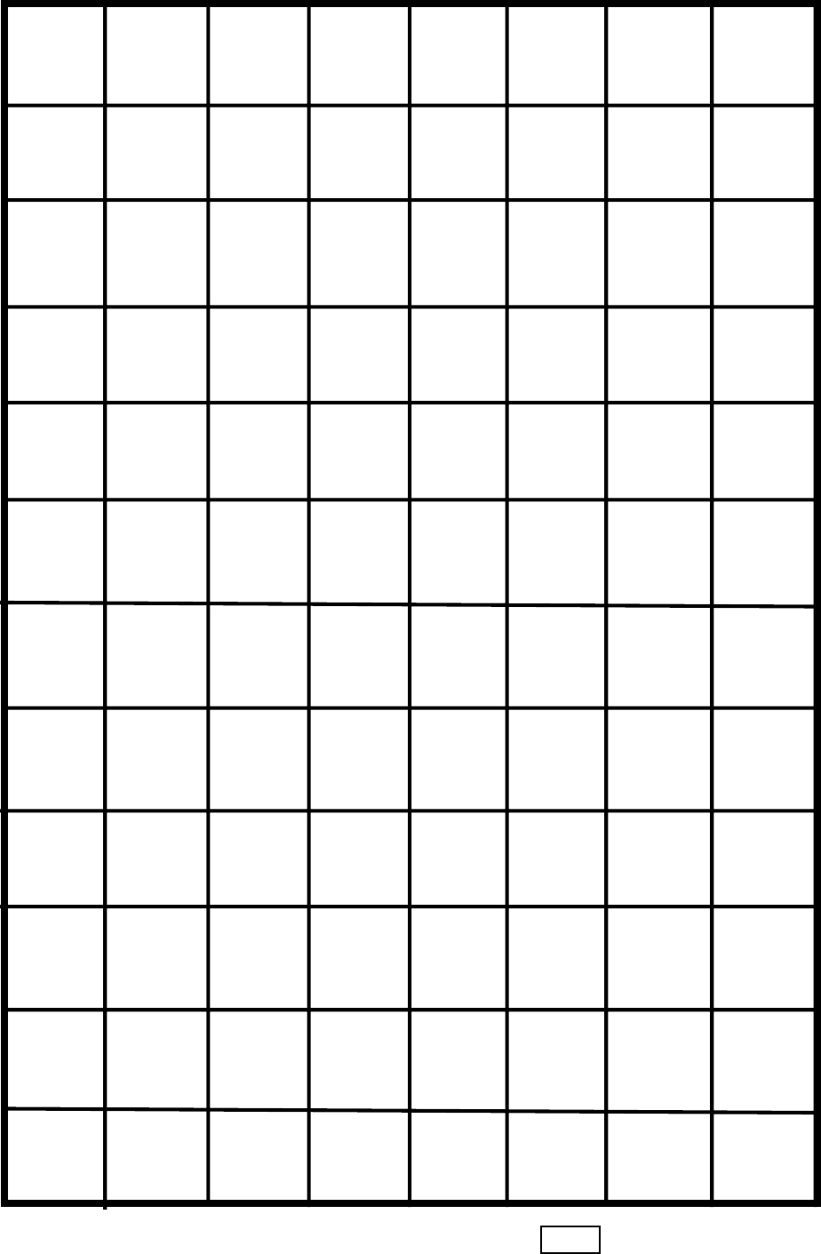 One-Inch Graph Paper | Education Math | Graph Paper, One Inch Y Page 3 - One Inch Graph Paper Free Printable