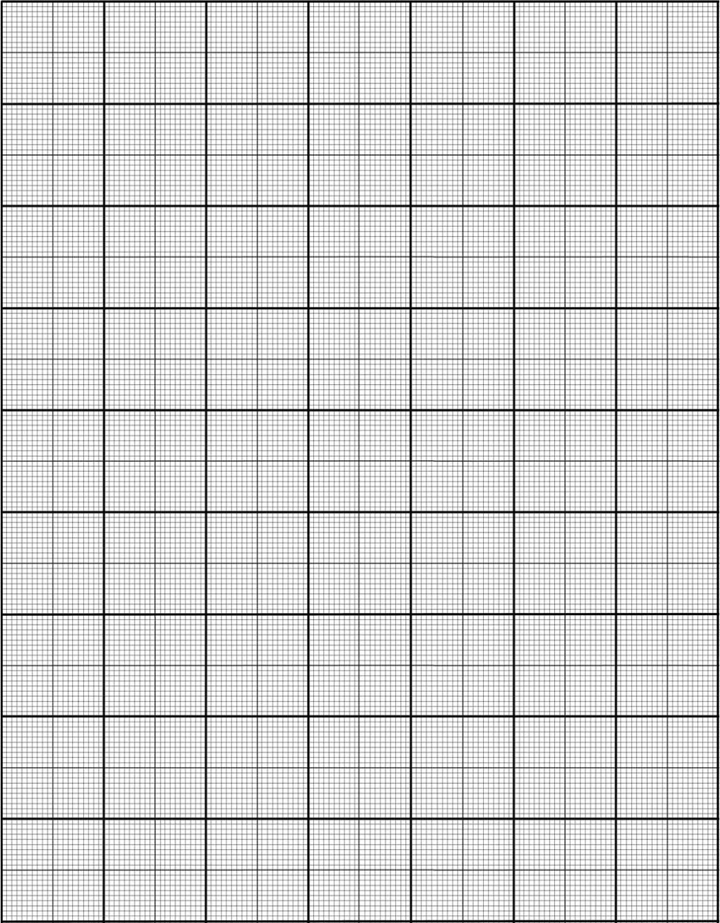 One Inch Graph Paper To Print - Kaza.psstech.co - Half Inch Grid Paper Free Printable