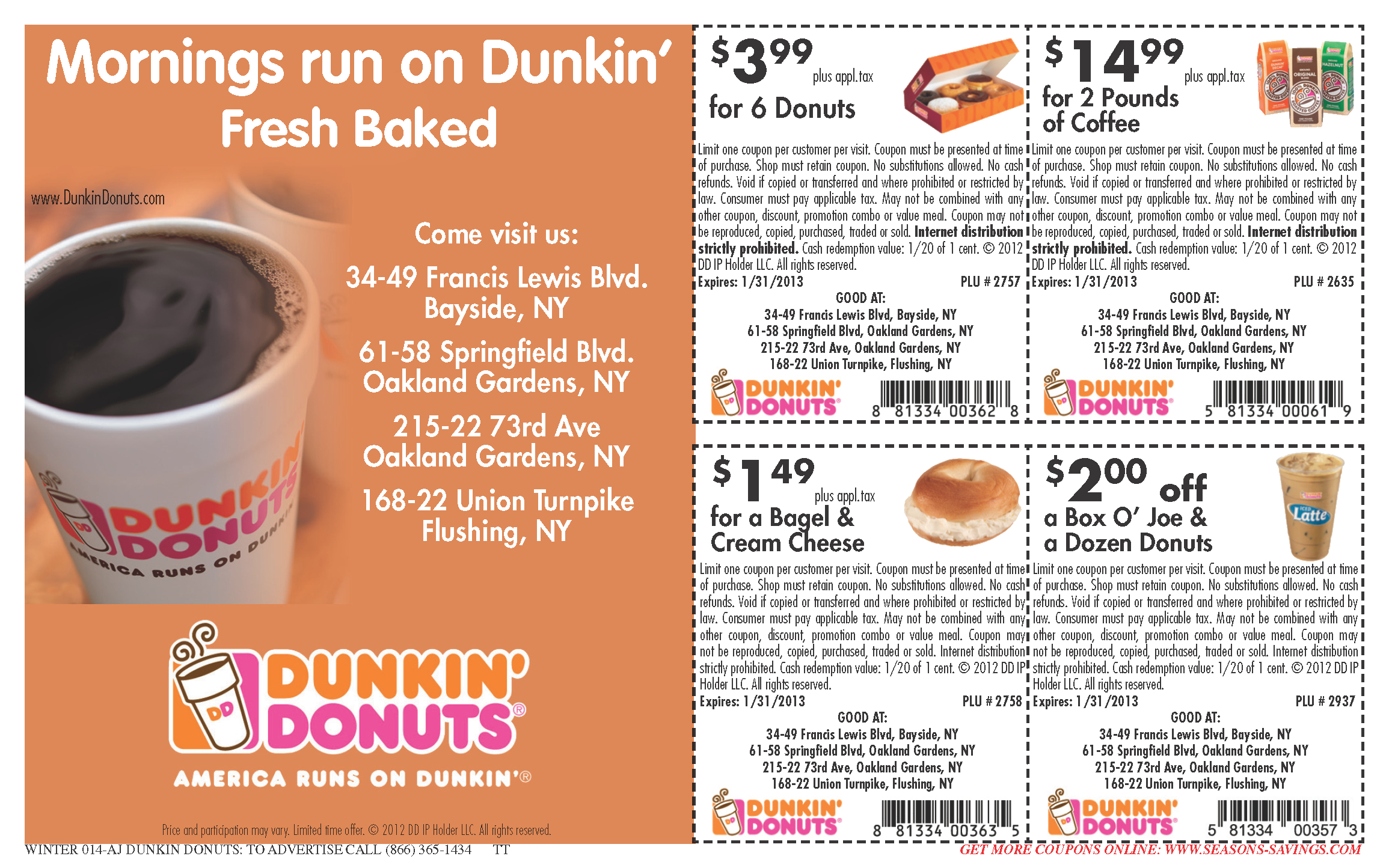 Online-Free-Dunkin-Donuts-Coupons-Coffee - Free Coffee Coupons Printable