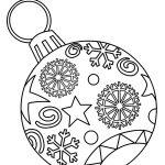 Ornaments Free Printable Christmas Coloring Pages For Kids | Paper   Free Printable Christmas Coloring Sheets