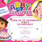 Others : Free Printable Sport Themed Birthday Invitation Card For   Dora Birthday Cards Free Printable