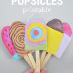 Paper Popsicles – For Imaginative Play – Be A Fun Mum   Free Printable Popsicle Template