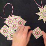 Paper Star Ornament Teabag Folding Tutorial   Youtube   Free Printable Tea Bag Folding Patterns