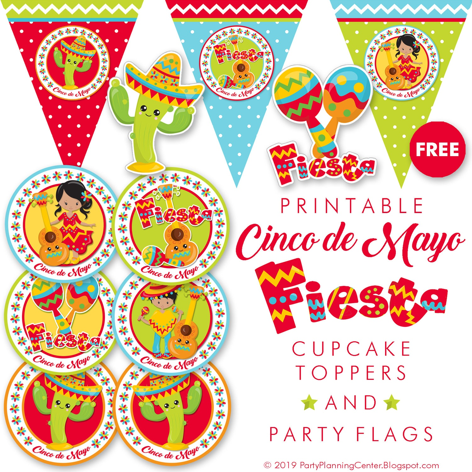 Party Planning: Free Mexican Fiesta Party Decorations - Free Printable Mexican Party Decorations