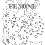 Party Simplicity Free Valentines Day Coloring Pages And Printables   Free Valentine Printables Coloring