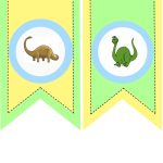 Party With Dinosaurs   Dinosaur Themed Birthday Party   Free Printable Dinosaur Birthday Banner