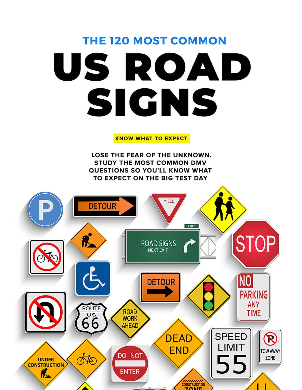 Pass Your 2019 Driving Test, Guaranteed: Driving-Tests Premium - Free Printable Testing Signs