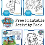 Paw Patrol Colouring Pages And Activity Sheets   In The Playroom   Paw Patrol Free Printables
