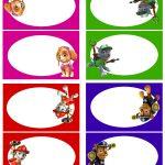 Paw Patrol Food Labels 1 Free Printable … | Stationary | Paw P…   Paw Patrol Free Printables
