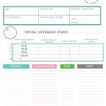 Paying Off Debt Worksheets   Free Printable Debt Snowball Worksheet