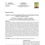 Pdf) The Kolb Learning Style Inventory—Version 3.1 2005 Technical   Free Learning Style Inventory For Students Printable