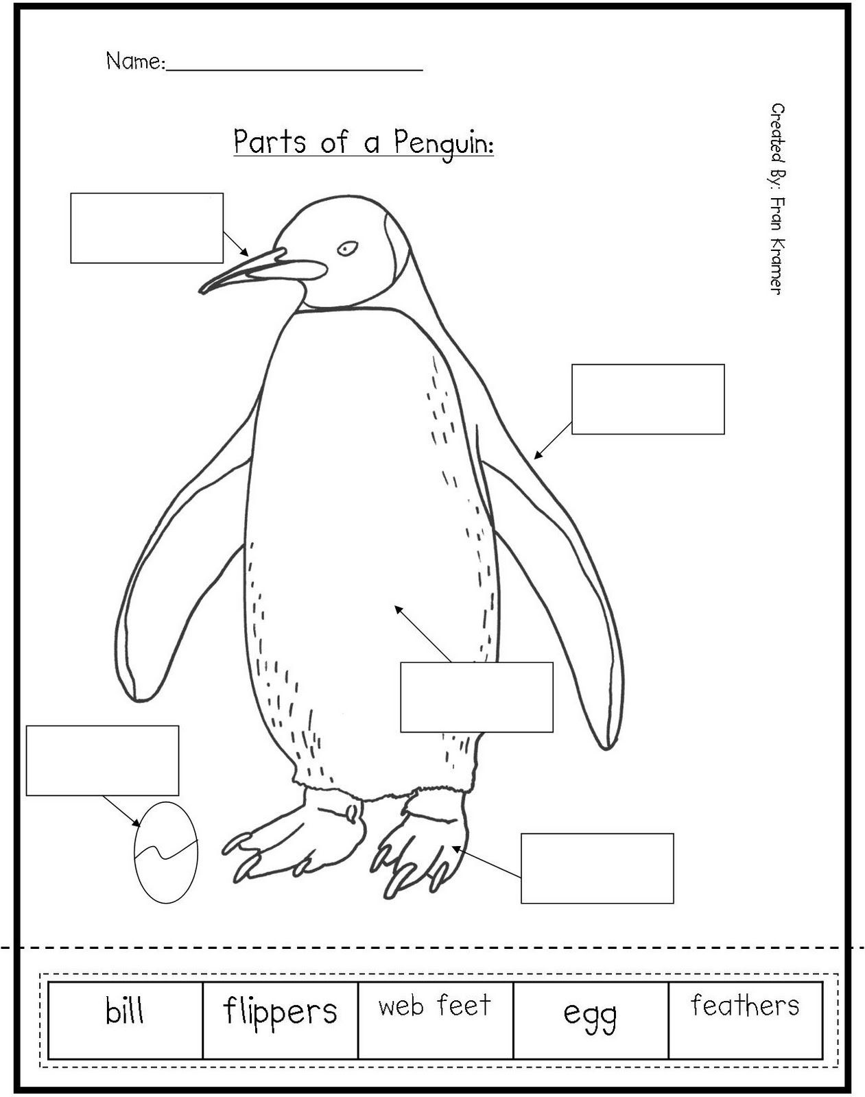 Penguin Worksheets For Preschool | Here Are Some Penguin Activities - Free Printable Penguin Books