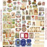 Perfumery Dollhouse Printable Boxes   Valentine Boxes • Pretty   Free Miniature Printables