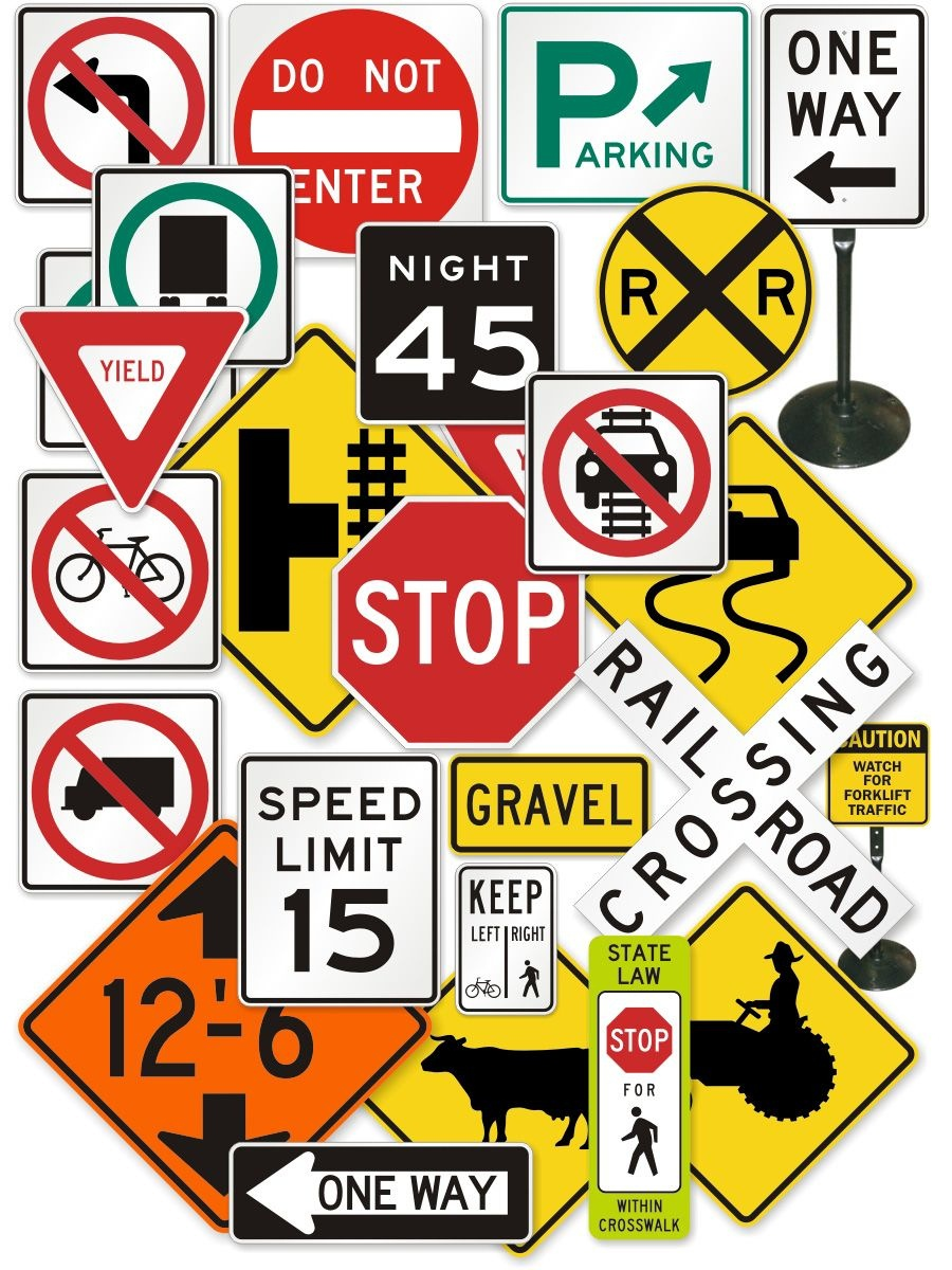 """Personalized """"official"""" Traffic Signs 