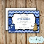 Personalized Printable Doctor Who Party Invitation Doctor | Etsy   Doctor Who Party Invitations Printable Free