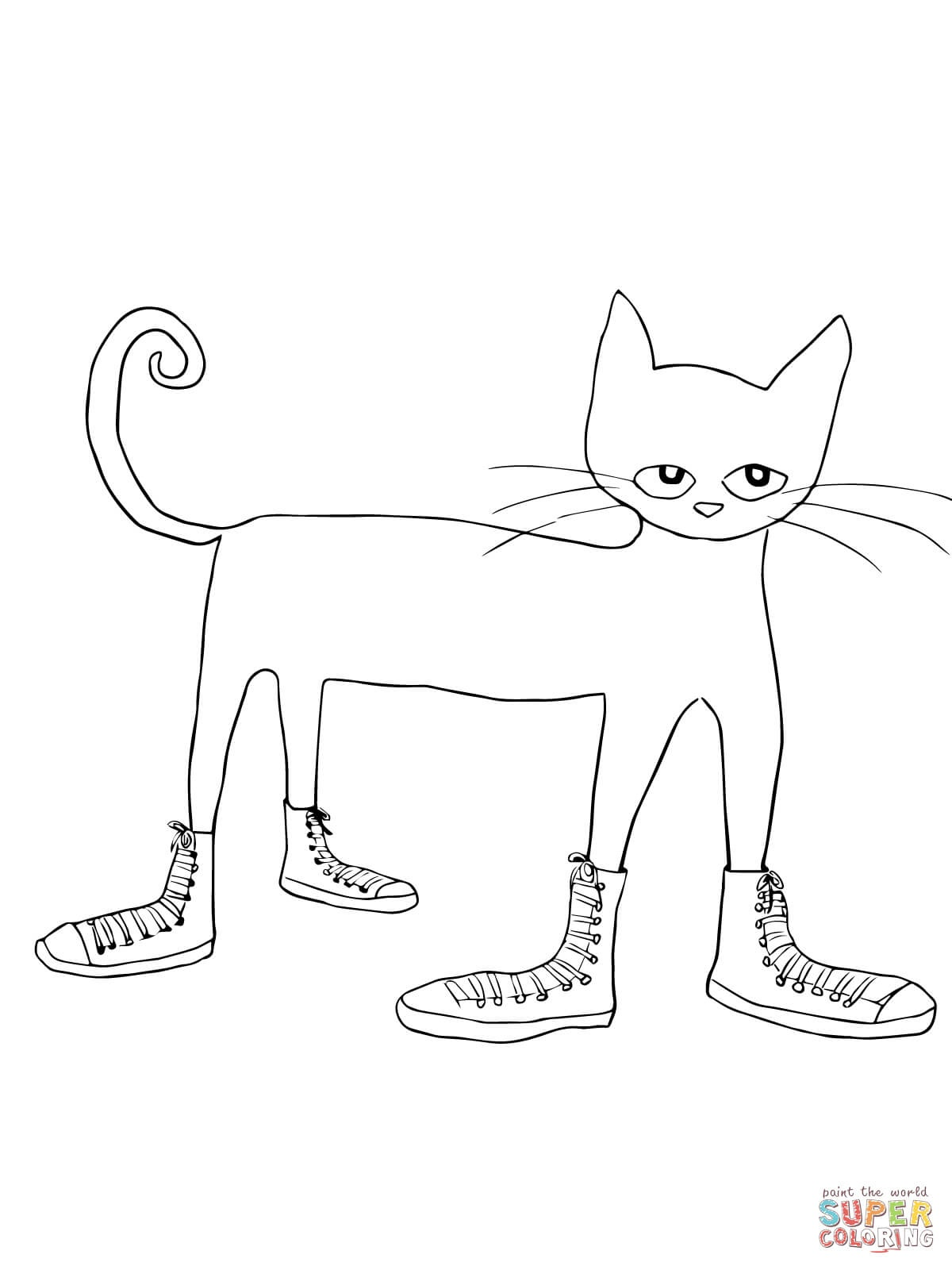 Pete The Cat Coloring Pages | Free Coloring Pages - Cat Coloring Pages Free Printable