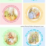 Peter Rabbit Cupcake Toppers Free To Print | Birthday Time! | Peter   Free Peter Rabbit Party Printables