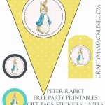 Peter Rabbit Free Party Printables | Prints | Peter Rabbit, Peter   Free Peter Rabbit Party Printables