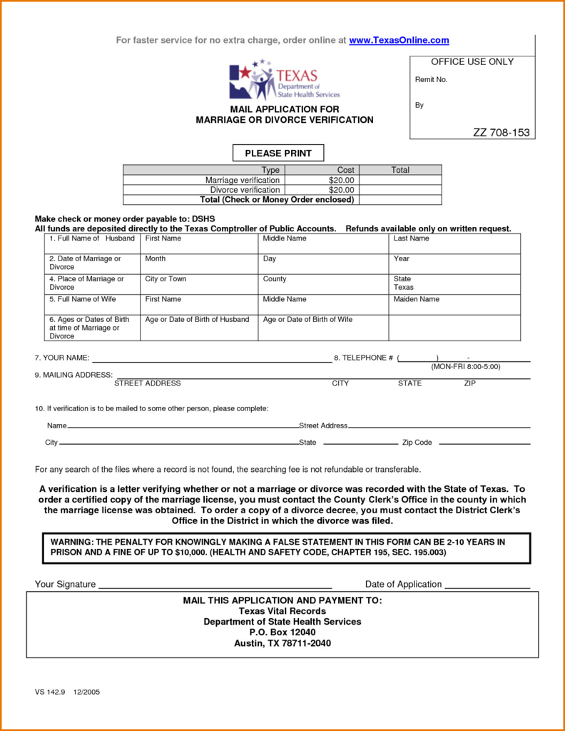 Petition For Divorce Form Texas Fresh Best S Free Separation Form - Free Printable Divorce Decree Forms