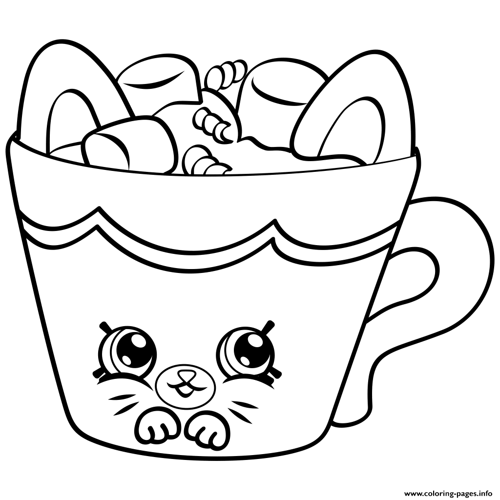 Petkins From Season 4 Coloring Pages Printable | Shopkins Coloring - Shopkins Coloring Pages Free Printable