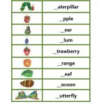 "Phionics Beginning Sound With ""the Very Hungry Caterpillar   The Very Hungry Caterpillar Free Printables"