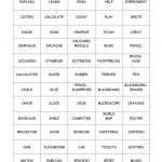 Pictionary Card About School Worksheet   Free Esl Printable   Free Printable Pictionary Cards