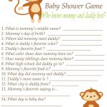 Pinalicia Wood On Baby Shower | Baby Shower Printables, Baby   Who Knows Mommy And Daddy Best Free Printable