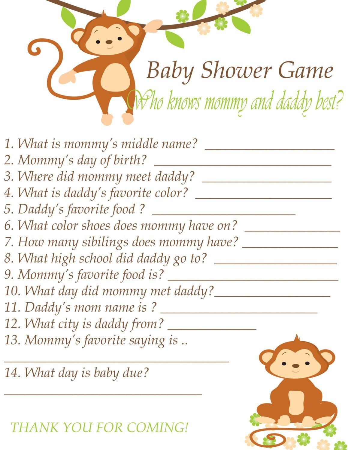 Pinalicia Wood On Baby Shower   Baby Shower Printables, Baby - Who Knows Mommy And Daddy Best Free Printable