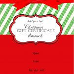 Pinamber M Ross On Gift Ideas | Christmas Gift Certificate   Free Printable Gift Certificate Christmas