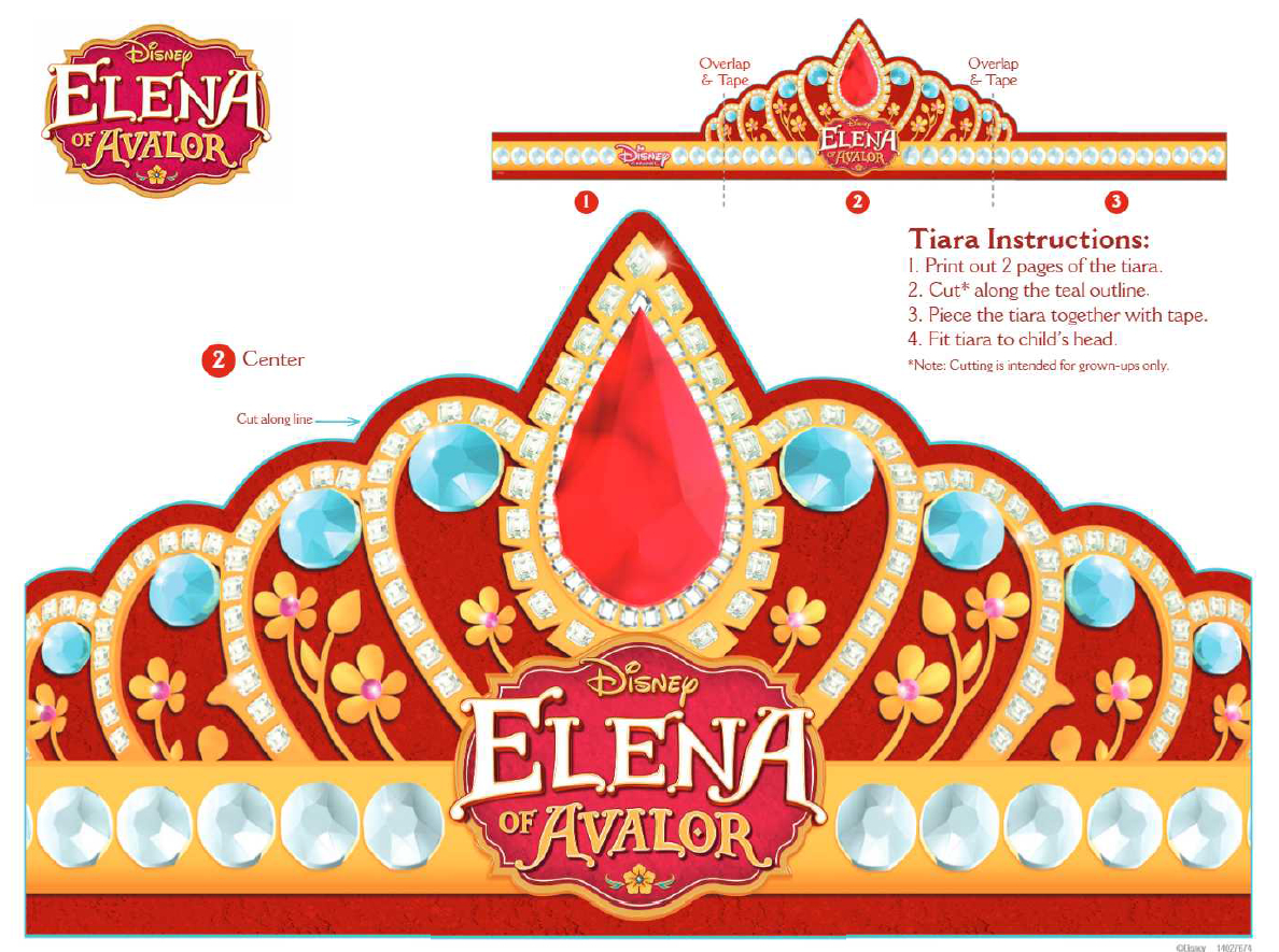 Pincrafty Annabelle On Elena Of Avalor Printables | Birthday - Elena Of Avalor Free Printables