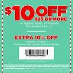 Pinned December 26Th: $10 Off $25 At #jcpenney #coupon Via The   Free Printable Coupons 2018