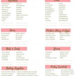 Pinrhiannon Dumas On Meal Planning/grocery Lists,inventory Lists   Free Printable Clean Eating Grocery List