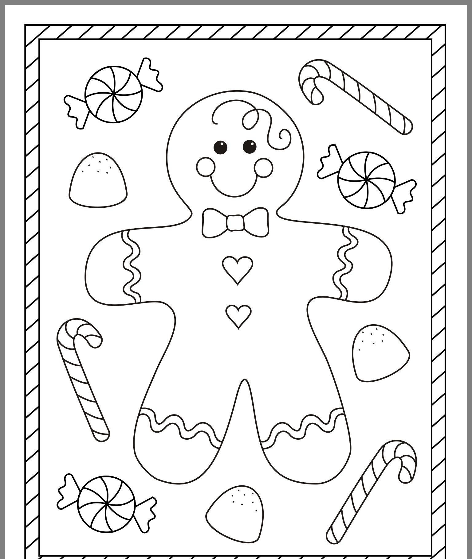 Pinsara Mcintyre On Christmas | Christmas Coloring Pages - Free Christmas Coloring Printables