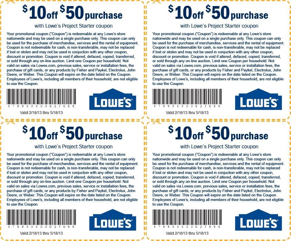Pinsophie Howard On Cars Photos | Lowes Coupon, Free Printable - Free Printable Lowes Coupons