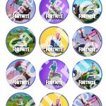 Pinspencer Geyer On Cool Ideas In 2019 | Cupcake Toppers   Free Printable Fortnite Cupcake Toppers