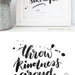 Pinstephanie Welch On Papers And Binders | Free Stencils, Hand   Free Printable Quote Stencils