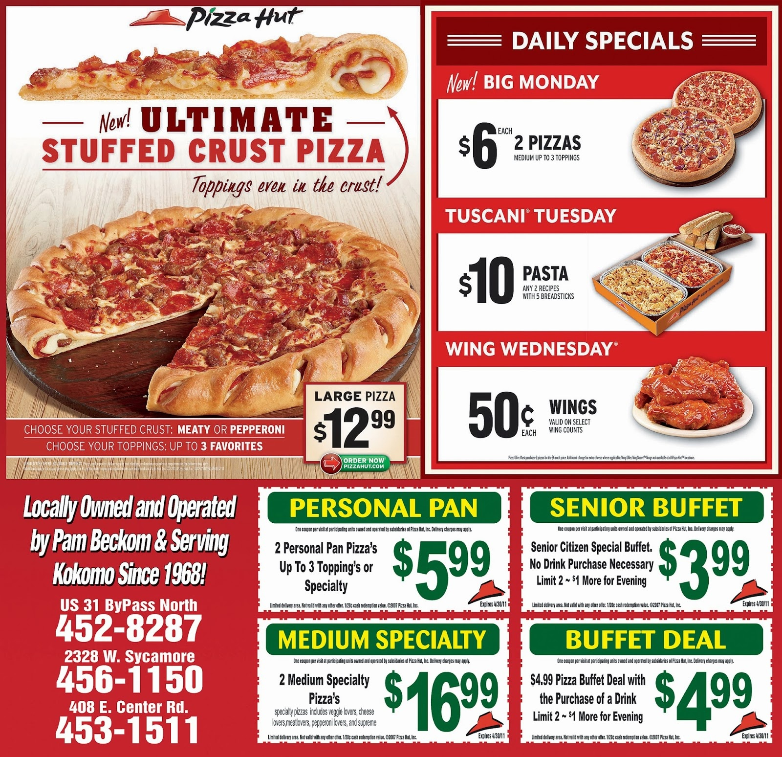 Pizza Coupons Codes - New Store Deals - Free Printable Round Table Pizza Coupons