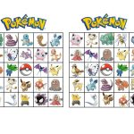 Pokemon Bingo | Henry Turns 6 | Pokemon Party, Pokemon Birthday   Free Printable Pictures Of Pokemon