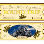 Polar Express Ticket Template Printable | Polar Express | Polar   Free Polar Express Printable Tickets